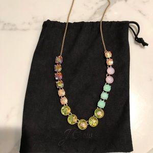 J.crew multicolored necklace
